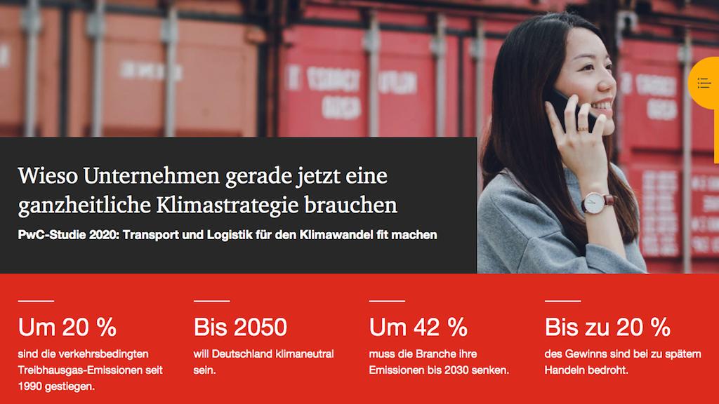 Transport und Logistik für den Klimawandel