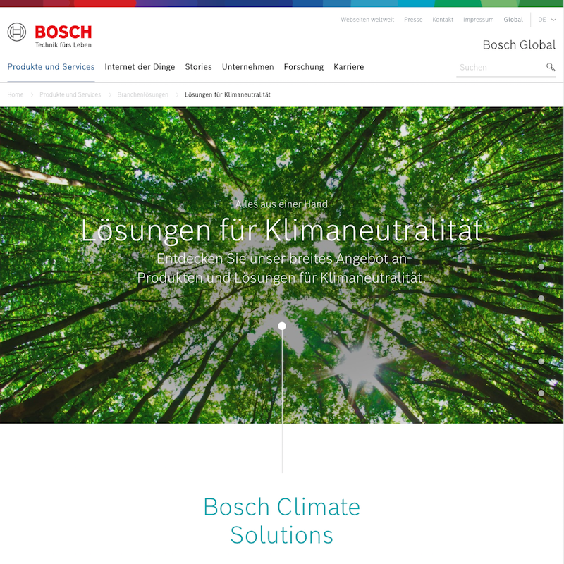 Bosch Climate Solutions
