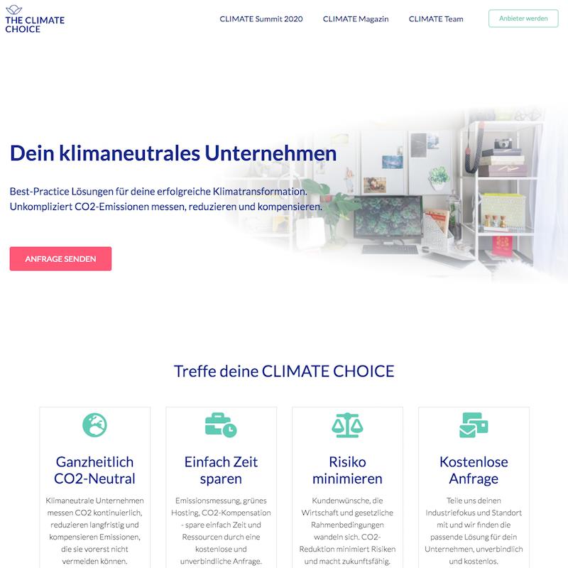 The Climate Choice