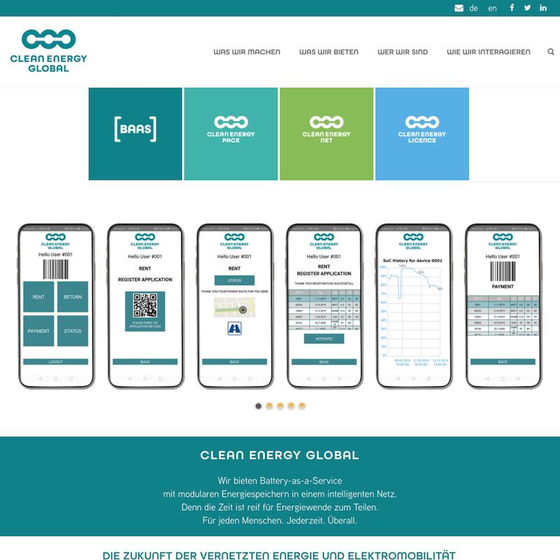 CLEAN ENERGY GLOBAL