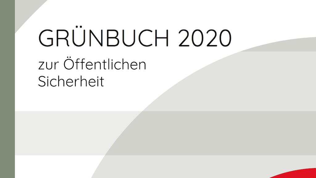 Grünbuch 2020 Klimawandel 2030